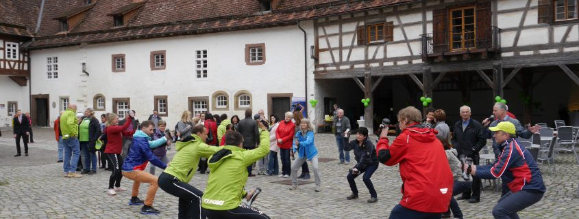 YoungGo Parcours am Wasserschloss in Glatt